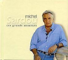 Les Grands Moments de Sardou, Michel, Sardou,Michel | CD | état acceptable