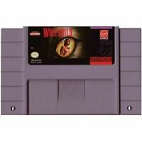 Wolfchild - Nintendo SNES Game Authentic