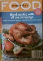 B002K2HWC0 Magazine Everyday Food (Thanksgiving with all the Trimmings, Novembe