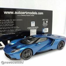 FORD GT 2017 Liquid Blue AUTOart MODEL 1/18 #72942
