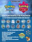 Pokemon Sword/Shield/Isle Of Armor/Crown of Tundra Custom 6IV Pokemon
