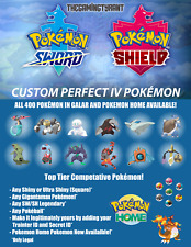 Pokemon Sword and Shield | Custom Perfect IV Pokemon