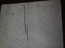 Manuscrit littéraire PIERRE LASSERRE