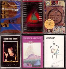 LOT 12 Cassette Tapes PLAY TESTED Electronic Funk Pop DEAD OR ALIVE ALPHAVILLE++