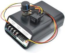 Icquanzx Dc Brush Motor Speed Controller Dc10 55v Forward Reverse With Digital D