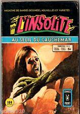 ¤ L'INSOLITE n°12 ¤ 1979 COMICS POCKET