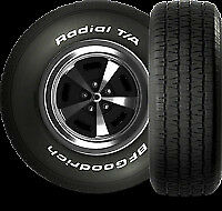 BF GOODRICH RADIAL T/A 255X70X15  PERFORMANCE USA MUSCLE CAR TYRE