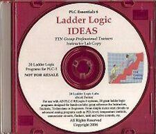 Ladder Logic Ideas for PLC-5 SLC-500 with 20 PLC Training Labs Logic Programs