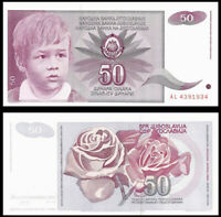 YUGOSLAVIA 50 Dinara, 1990, P-104, UNC World Currency