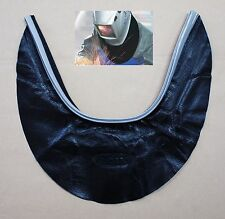 NEW OTOS Leather Weld Welding Helmet Neck Protector Cover Seal Hood Spatter