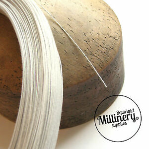 Super Fine 0.4mm (46 Gauge) Cotton Covered Millinery Wire