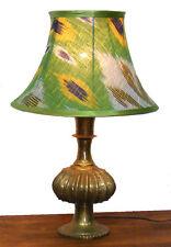 orient Afghan Tischlampe Tischleuchte Nachttischlampe Ikat table lampe Messing 1