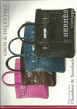 GROS & DELETTREZ HERMES Vintage Handbags Kelly Birkin Auction Catalog 2012 12