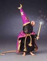 R. John Wright - Black Magic Mouse, Halloween Mice Collection - NO BOX