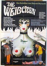 WEIBCHEN (A0-Plakat '70) - USCHI GLAS / IRINA DEMICK / sexy