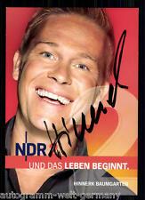 Hinnerk Baumgarten NDR AK Orig. Sign.  +15165 + 88220
