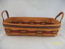 Longaberger 1993 Crisco American Baking Basket