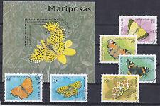 Sahara 1997 - Block & Sheets - Vlinders / Schmetterlinge / Butterflies