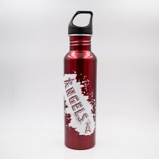 More details for los angeles angels 26-ounce screw top stainless steel water bottle