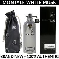 Montale Paris White Musk Eau de Parfum for Women 3.4 oz / 100ml Spray Bottle NEW