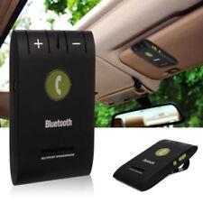 Bluetooth Speaker Phone Speakerphone Slim Visor Clip Hands Free Wireless Car Kit