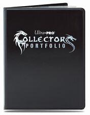 Ultra Pro 9 Pocket Black Gaming Collectors Portfolio Folder 10 Pages 180 Cards