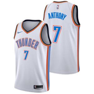 Oklahoma City Thunder Jersey Nike Association Jersey - Anthony 7 - New