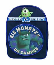 NEW Disney Monsters University Inc Kids Mike Arch School Bag Rucksack Backpack