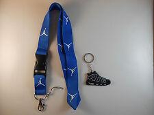 Jordan lanyard with Nike keychain. New. Breakaway. NFL MLB NBA NCAA Basketball
