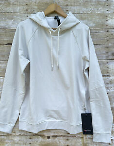 NWT Lululemon City Sweat Pullover Hoodie White Opal Size L Large