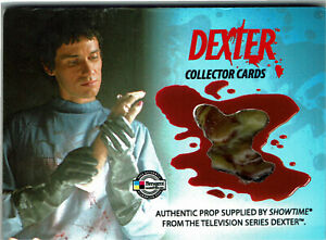 Dexter Season 1 & 2 Prop Relic Card DPC2 Plastic Left Hand VARIANT