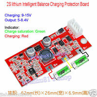 Intelligent Balance Charging Protection Board 2S Packs 18650 lithium Battery