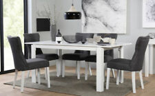 Lacquer Contemporary Dining Room Table & Chair Sets