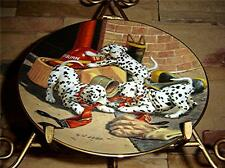 Dalmatians Puppy Dog, Jim Lamb, Where's the Fire?, ALL IN A DAY'S WORK Plate