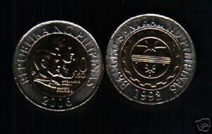 PHILIPPINES 10 PESOS KM-278 2006 BI METAL UNC LOT X 10 PCS MONEY ASIA WHOLESALE