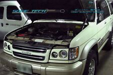 Isuzu Trooper Acura SLX SUV Black Strut Gas Lift Hood Shock Stainless Damper Kit