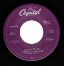 "Beatles (Ringo Starr) ""It Don't Come Easy"" NICE 1988 US Capitol Purple Label 45"