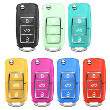 3 Buttons Remote Key Case Fob Fit For VW Volkswagen Bora Beetle Golf Polo Passat