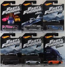 2018 Hot Wheels: FAST & And FURIOUS - Walmart Exclusive COMPLETE Set of 6 Cars