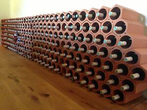 Flash sale : 36 x Terracotta wine rack, to hold 72 bottles,