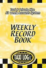 Taxi logic accounts/records log book for drivers :sign, cab, meter, driver