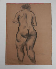 Raphael Soyer       Standing Nude Rear View