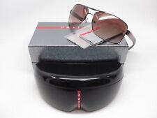 Authentic Prada Sport SPS 54I 5AV-6S1 Gunmetal w/Brown Gradient Sunglasses