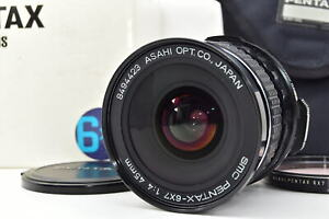 [MINT in Box] PENTAX SMC 6x7 45mm F/4 Wide Lens for 6x7 67 67II From Japan