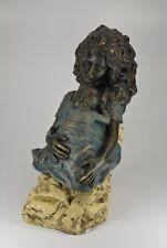 Escultura madre con niño angeles Anglada made in spain objeto personaje personaje; k45 3