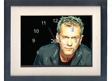 Jimmy Barnes. A high quality framed print and clock. Music memorabilia.