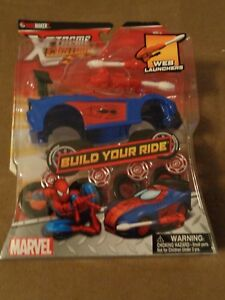 Ridemakerz Marvel Xtreme Customz Build Your Ride-Free Shipping-New In Package