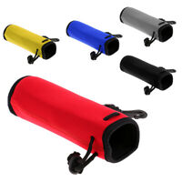Outdoor Neoprene Water Bottle Drawstring Insulator Cooler Sleeve Bag 500ml