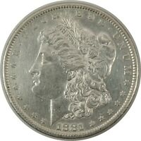 """1881-S $1 MORGAN SILVER DOLLAR AU+ DETAILS """"Cleaned""""   (11112048)"""