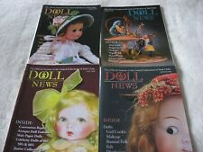 DOLL NEWS MAGAZINES (4) 2006 COMPLETE YEAR - SPRING,SUMMER,FALL & WINTER UFDC